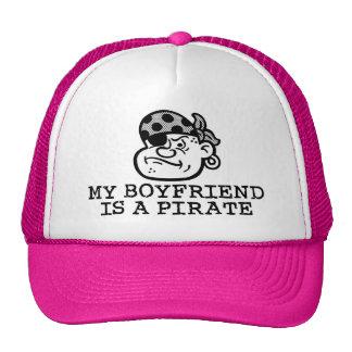 My Boyfriend is a Pirate Mesh Hats