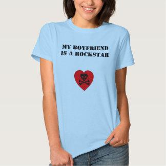 My Boyfriend is a Rockstar Shirt
