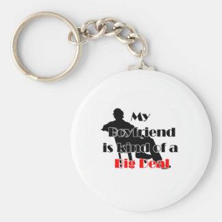 my boyfriend is kind of a big deal keychain