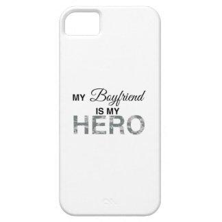 My Boyfriend is my Hero Digital Camouflage iPhone 5 Covers