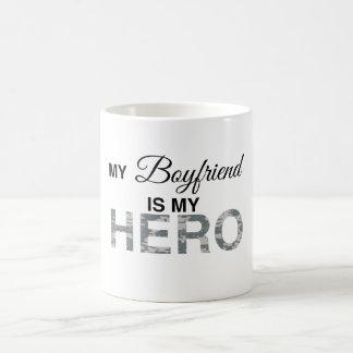My Boyfriend is my Hero Digital Camouflage Coffee Mug