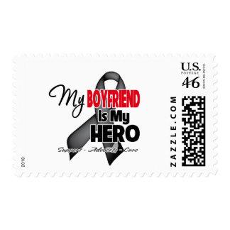 My Boyfriend is My Hero - Skin Cancer Stamps