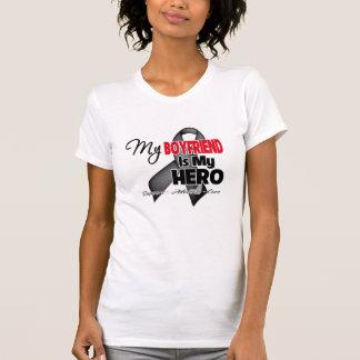 My Boyfriend is My Hero - Skin Cancer T-shirts