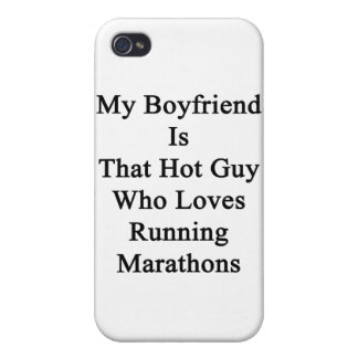 My Boyfriend Is That Hot Guy Who Loves Running Mar iPhone 4/4S Cover