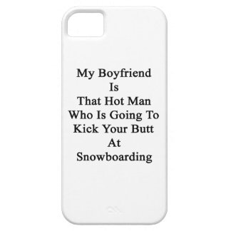 My Boyfriend Is That Hot Man Who Is Going To Kick iPhone 5 Cover