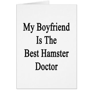 My Boyfriend Is The Best Hamster Doctor Cards