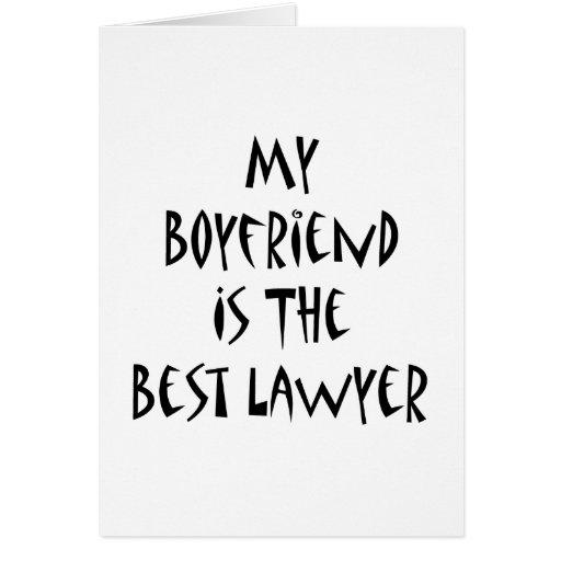 My Boyfriend Is The Best Lawyer Cards