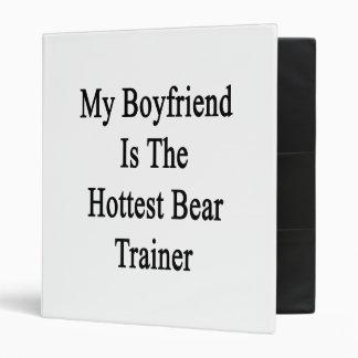 My Boyfriend Is The Hottest Bear Trainer 3 Ring Binder