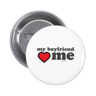 My Boyfriend Loves Me Valentines Day - Heart 14th Pins