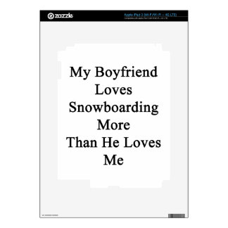 My Boyfriend Loves Snowboarding More Than He Loves Skins For iPad 3