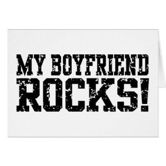 My Boyfriend Rocks Card