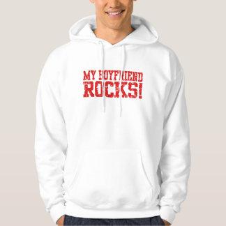 My Boyfriend Rocks Pullover