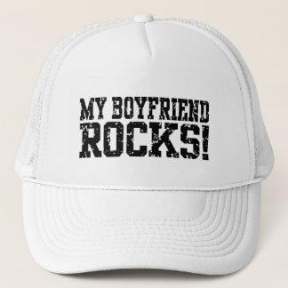 My Boyfriend Rocks Trucker Hat