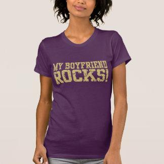 My Boyfriend Rocks T Shirts