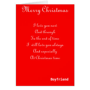 Christmas greetings for boyfriend gifts on zazzle my boyfriend romantic christmas greeting cards m4hsunfo Gallery
