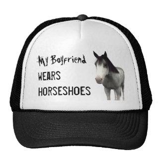 My Boyfriend Wears Horseshoes - Blue Roan Trucker Hat