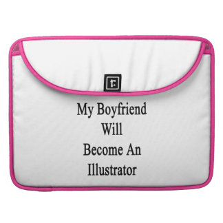 My Boyfriend Will Become An Illustrator MacBook Pro Sleeves