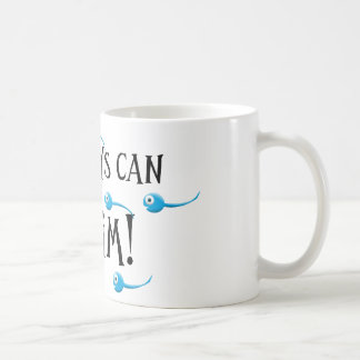 my boys can swim coffee mug