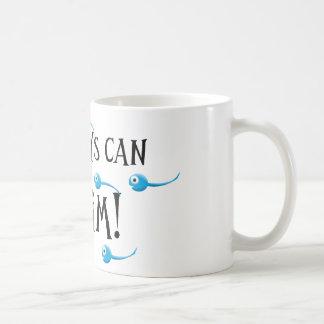 my boys can swim coffee mug