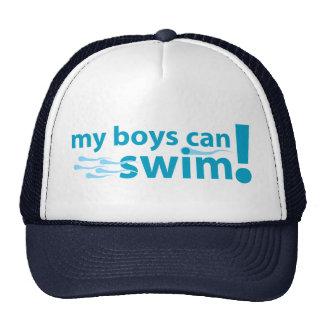 My Boys Can Swim! Trucker Hat