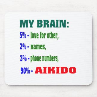 My Brain 90 % Aikido Mousepad