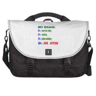 My Brain 90 % Jiu-Jitsu. Laptop Commuter Bag