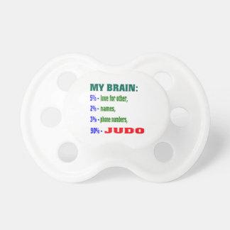 My Brain 90 % Judo. BooginHead Pacifier