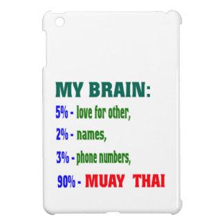 My Brain 90 % Muay Thai. iPad Mini Cases