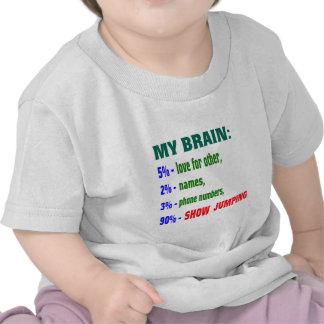 My Brain 90 % Show jumping. Shirts