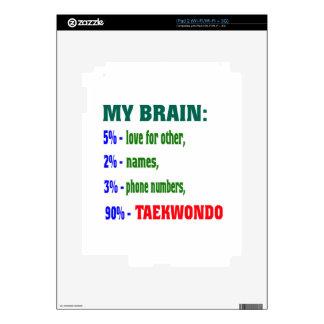 My Brain 90 % Taekwondo. iPad 2 Skins