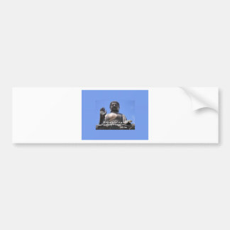 My  brain and my heart are my temples Dalai Lama Bumper Sticker