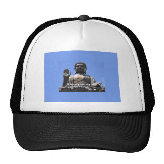 My  brain and my heart are my temples Dalai Lama Trucker Hat