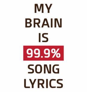 39c3893ddf90 my brain is 99.9% song lyrics coffee mug