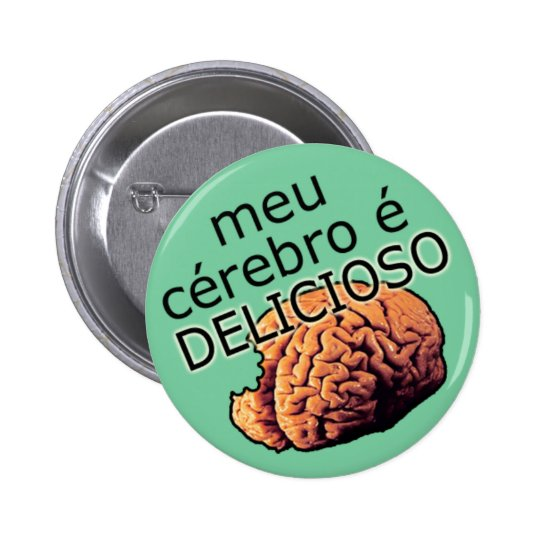my brain is DELICIOUS Button
