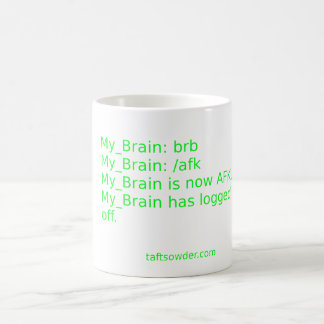 My_Brain Log off Coffee Mug