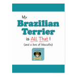 My Brazilian Terrier is All That! Post Cards