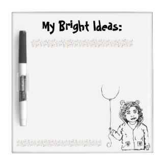 My Bright Ideas Dry-Erase Board