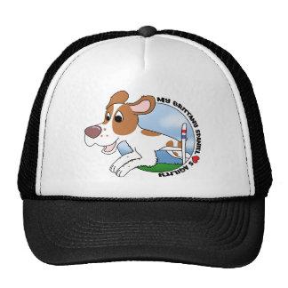 My Brittany Spaniel Loves Agility Trucker Hat