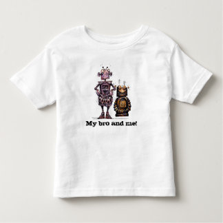 My Bro and Me Funny Kids Robots Toddler T-shirt