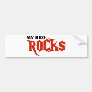 My Bro Rocks Car Bumper Sticker
