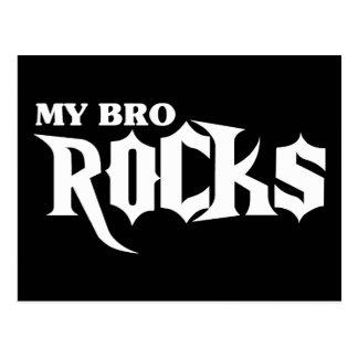 My Bro Rocks Postcard