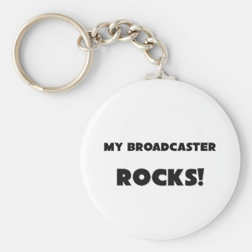 MY Broadcaster ROCKS! Key Chain
