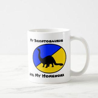 My Brontosaurus Ate My Homework Coffee Mug