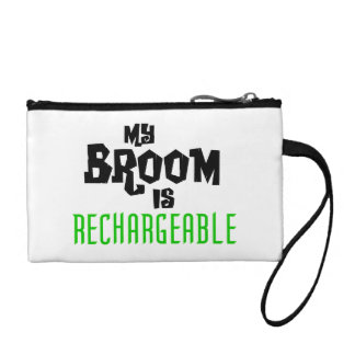 My Broom is Rechargeable Change Purse