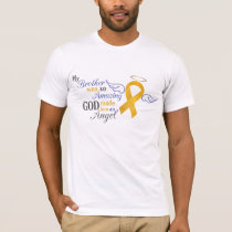 My Brother An Angel - Appendix Cancer T-Shirt