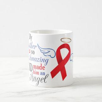 My Brother An Angel - Blood Cancer Coffee Mug