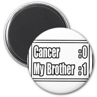 My Brother Beat Cancer (Scoreboard) Magnets