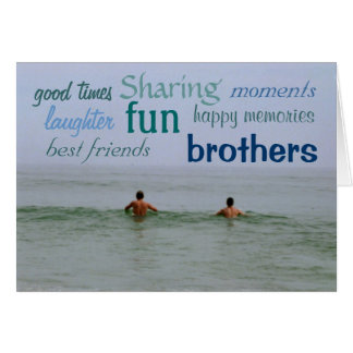 My Brother Card