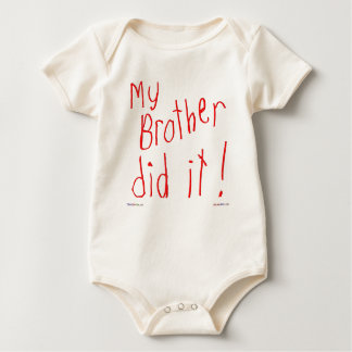 My Brother Did It! T-shirt