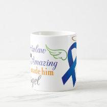 My Brother-In-Law An Angel - Anal Cancer Coffee Mug
